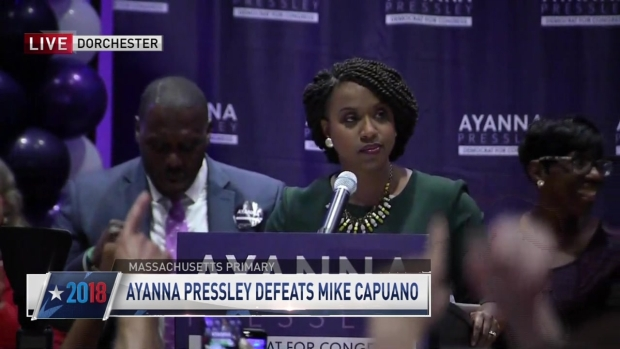 [NECN] 'Change Is on the Way': Ayanna Pressley Defeats Rep. Mike Capuano in Primary