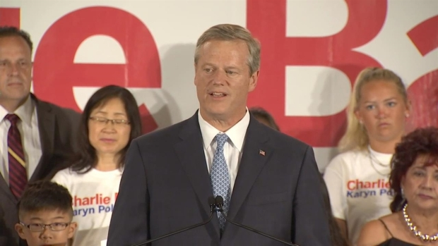 [NECN] Gov. Baker Speaks After Winning Primary