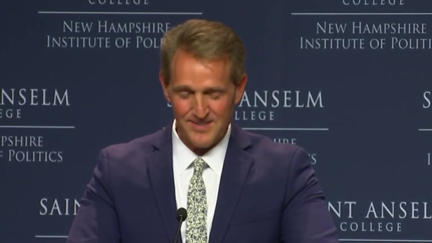 [NECN] Sen. Flake Says Tribalism in Politics Needs to End