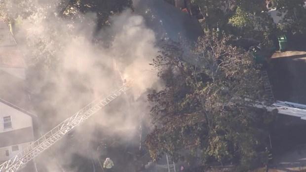 [NECN] Fire Crews Respond to Structure Fire in Lynn, Mass.