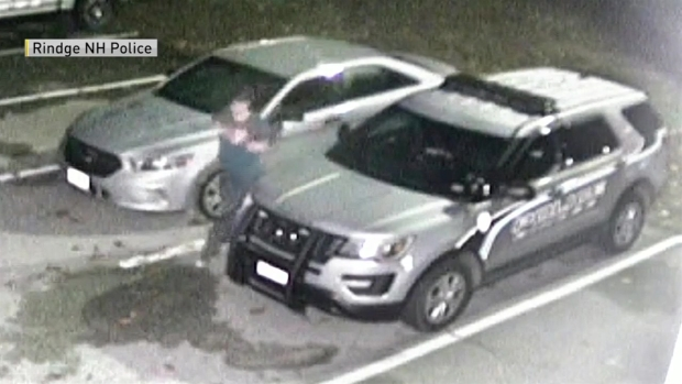 [NECN]Police Looking for Maple Syrup Vandal
