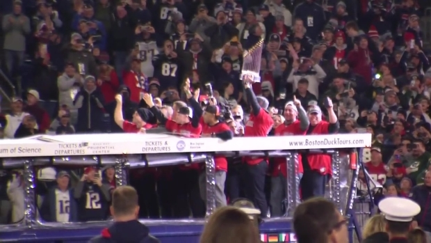 [NECN] Red Sox Honored at Gillette Stadium