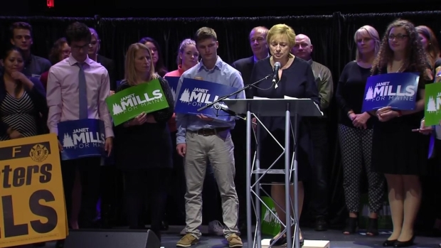 [NECN] Janet Mills Elected as Maine Gov., Makes History