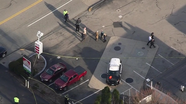 [NECN] Authorities Respond to Officer-Involved Shooting in Auburn, Mass.