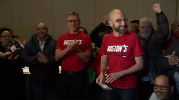 Cheers Erupt as Union Officials Say Deal Has Been Reached With Marriott