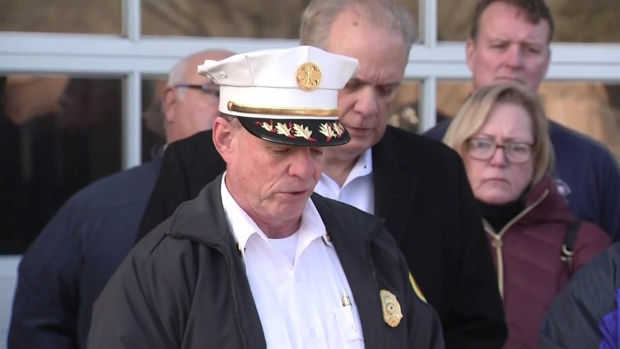 [NECN] Worcester Fire Officials Provide Updates on Firefighter Death