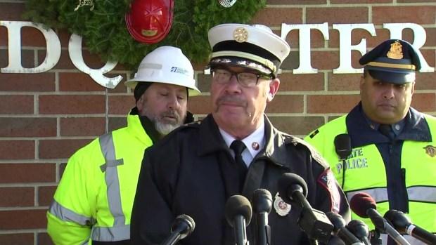 [NECN] Fire Officials Address Fatal Rollover Crash in Fall River
