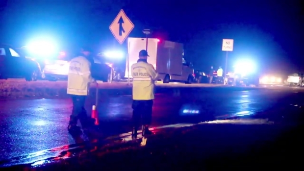 [NECN] Fatal Crash on I-495 in Middleboro, Mass.
