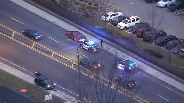 [NECN] Woman Arrested After Low-Speed Police Chase in Abington