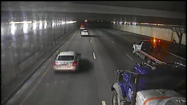 [NECN]Tow Truck Driver Helps Rescue Man in Wheelchair in Prudential Tunnel