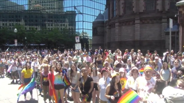 [NECN] Thousands Appear at 2019 Boston Pride Parade