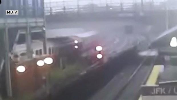 Footage of MBTA Red Line Derailment Released