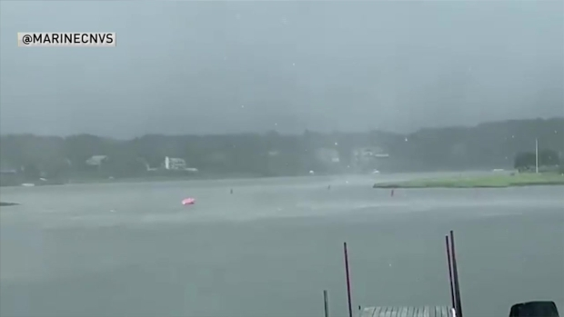 [NECN] WATCH: Water Spout Captured Off Cape Cod