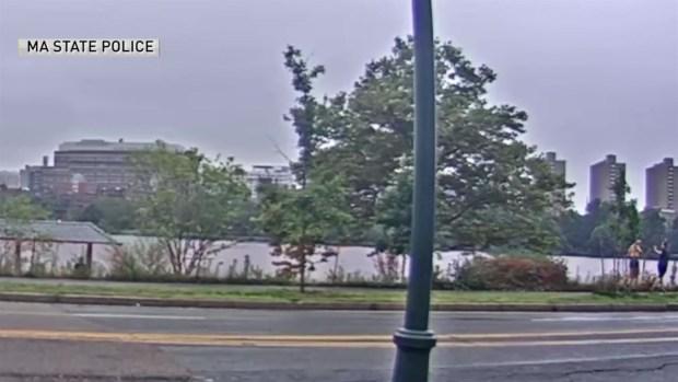 [NECN] VIDEO: Man Flashes Woman Jogging Along Charles River