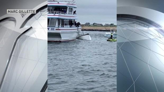 [NECN] Two Chartered Boats Collide in Newburyport