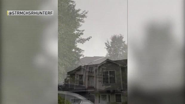 [NECN] Storm Spotter Says He Captured Funnel Cloud Over Hooksett, NH