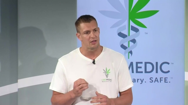 [NECN] Gronkowski Announces He Is Entering CBD Business