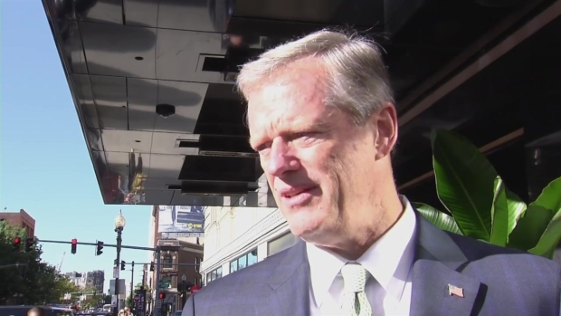 Gov. Charlie Baker Talks Latest Lawrence Gas Leak