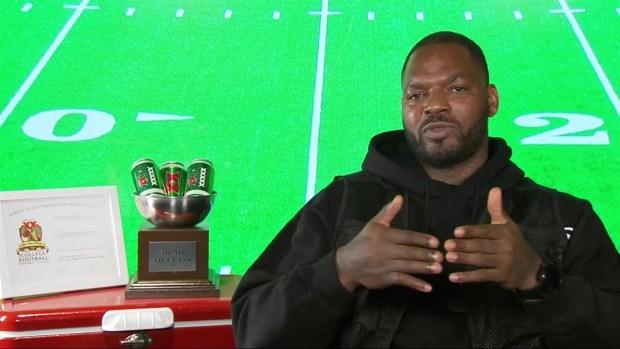 [NECN] Martellus Bennett Talks Brady's Future, Sleeping on Gronk's Couch
