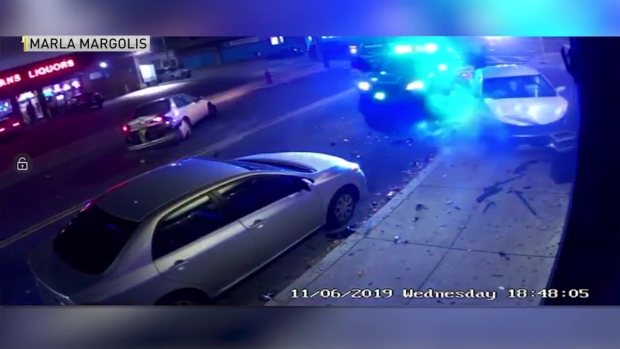 Wild Video Shows Police Chase End in Crash