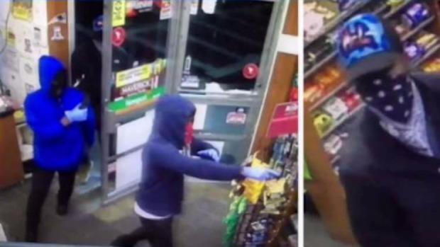[NECN] BPD Investigating String of Armed Robberies