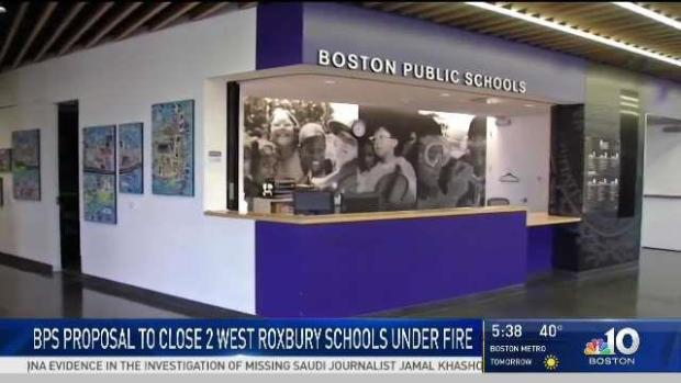 [NECN] BPS Proposes to Close 2 West Roxbury Schools