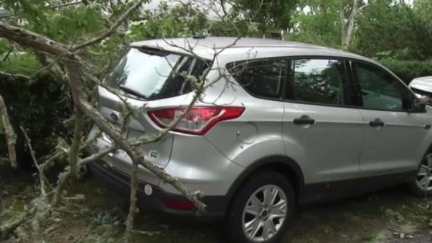 [NECN] Baker Activates National Guard to Help Tornado Recovery on Cape