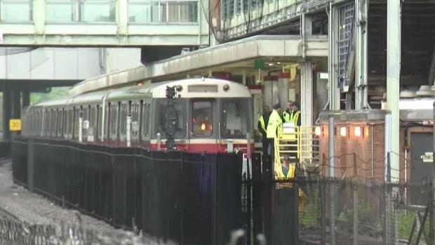 [NECN] Baker Addresses MBTA Issues While Repairs Continue After Derailment