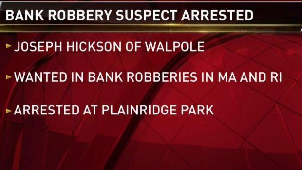 [NECN] Bank Robbery Suspect Arrested
