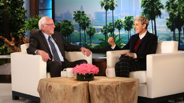 Bernie Sanders Dances onto 'Ellen'