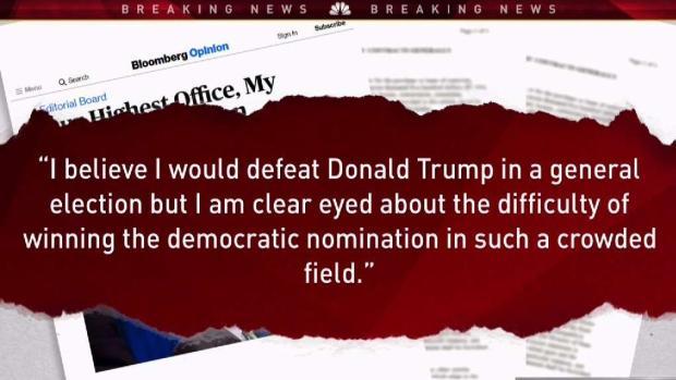 [NATL-NY] Bloomberg Not Running for President