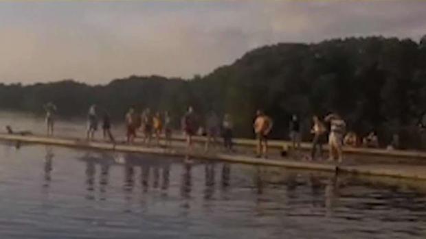 [NECN] Body of Teen Swimmer Pulled From Medford Lake