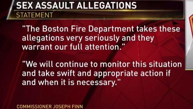 [NECN] Boston Firefighter Placed on Leave Amid Allegations