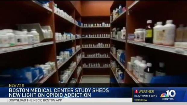 [NECN] Boston Medical Center Study Sheds Light on Opioid Addiction