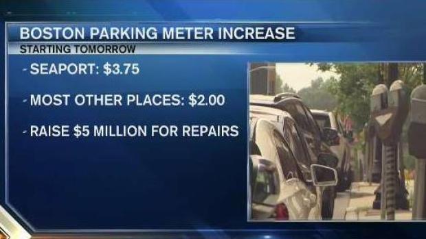 [NECN] Boston Parking Meter Increase