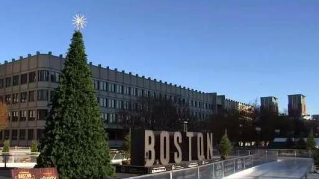 [NECN] Boston Winter Festival Opens on City Hall Plaza