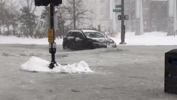 [NECN] Boston's Seaport Prepares for Potential Flooding