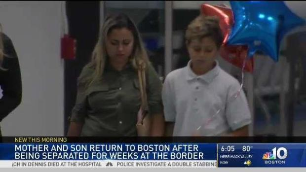 [NECN] Brazilian Boy Reunited With Mother in Boston