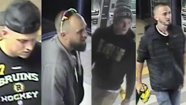 [NECN] Bruins Fans Wanted for Questioning After Alleged Assault at MBTA Station
