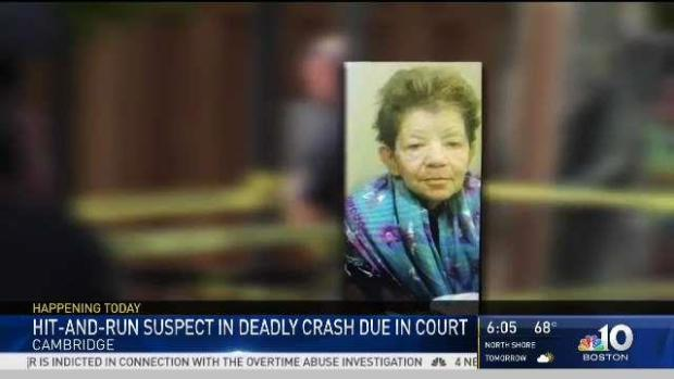 [NECN] Cambridge Fatal Hit-and-Run Driver Faces Judge