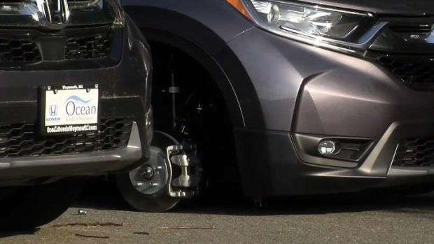 [NECN] Thousands of Dollars Worth of Wheels Stolen From Dealership Found