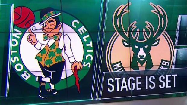 [NECN] Celtics to Face Bucks in First Round of Playoffs