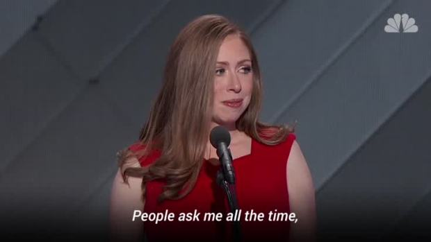 Chelsea Clinton Speaks at DNC