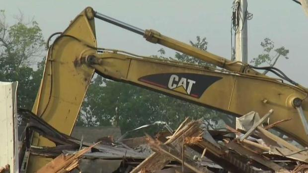 [NECN] Clean Up Continues in Webster After Tornado