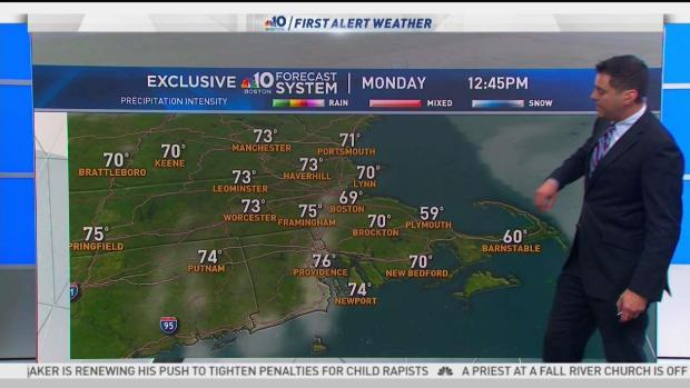 [NECN] Clear Memorial Day Before Temps Drop