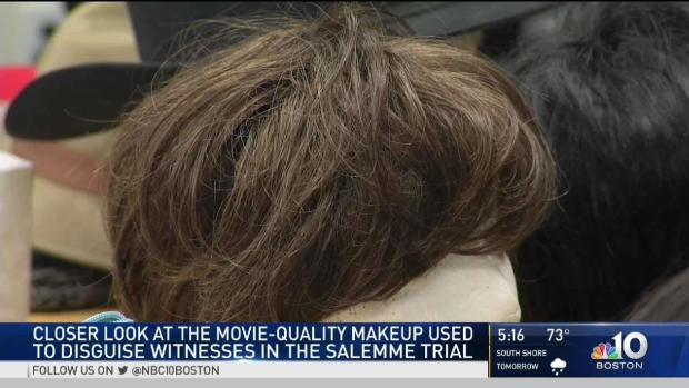 [NECN] Closer Look at Movie-Quality Makeup Used in Mob Trial
