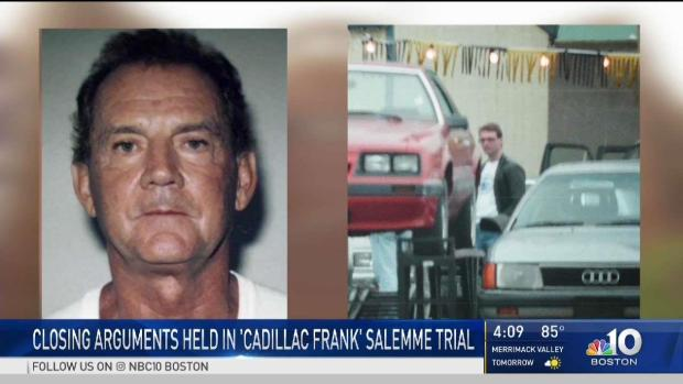 [NECN] Closing Arguments Held in Trial of Former Mob Boss
