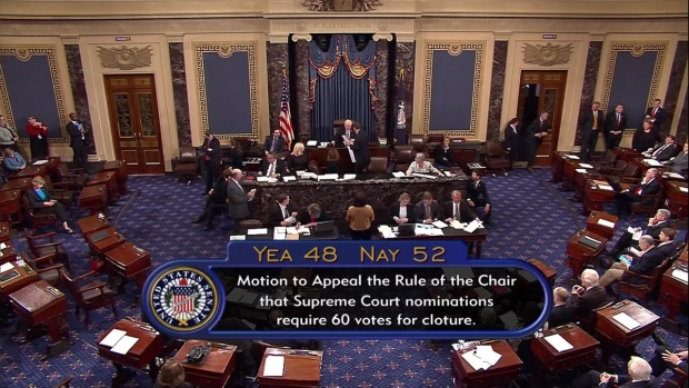 [NATL] Republicans Clear Way For Gorsuch Confirmation With 'Nuclear Option'