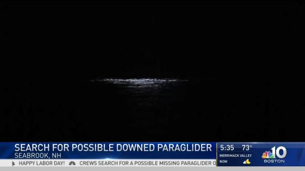 [NECN] Coast Guard Searches for Possible Missing Paraglider