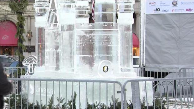 [NECN] Cold Day In Copley Square